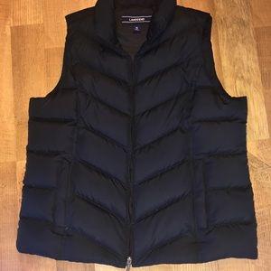 Land's End down vest XL